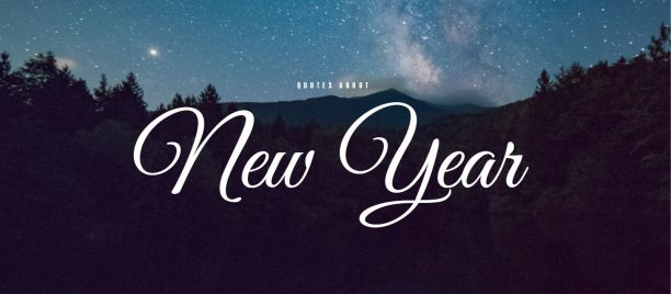 collection of best quotes about new year