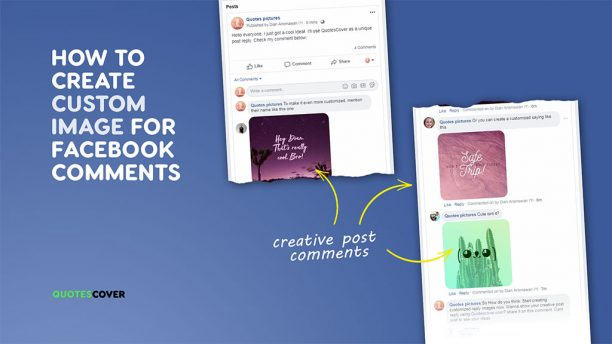 Fastest way to make more creative and distinctive Facebook comments.