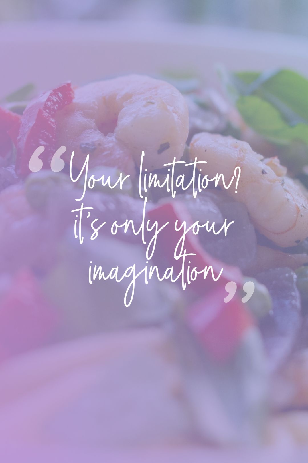 Quotes image of Your limitation? it's only your imagination