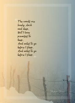American poet about wanderlust