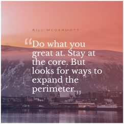 Bill McDermott 's quote about business,entrepreneurship,leadership. Do what you great at….