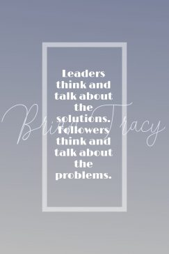 Brian Tracy quote about leadership