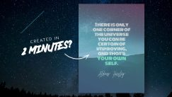How to make quote poster in just 2 minutes