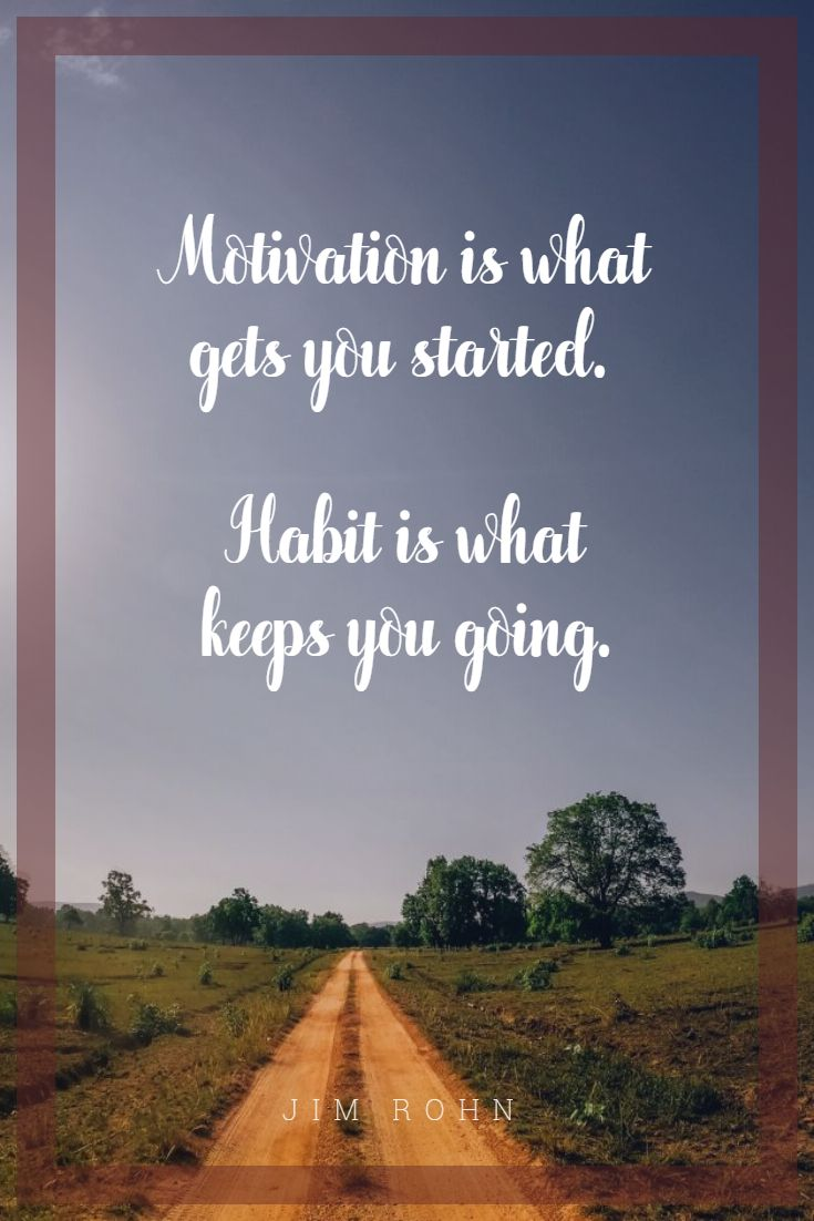 Quotes image of Motivation is what gets you started. Habit is what keeps you going.