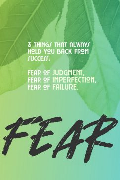 noname 's quote about failure,fear. 3 things that always hold…