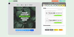 The Quote Maker Editor