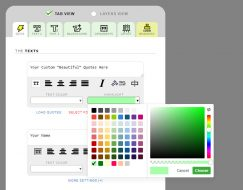 New color picker!