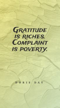 Doris Day's quotes about gratitude