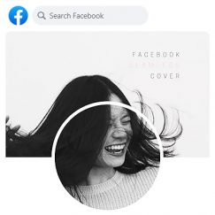 How to create a unique seamless Facebook cover in seconds