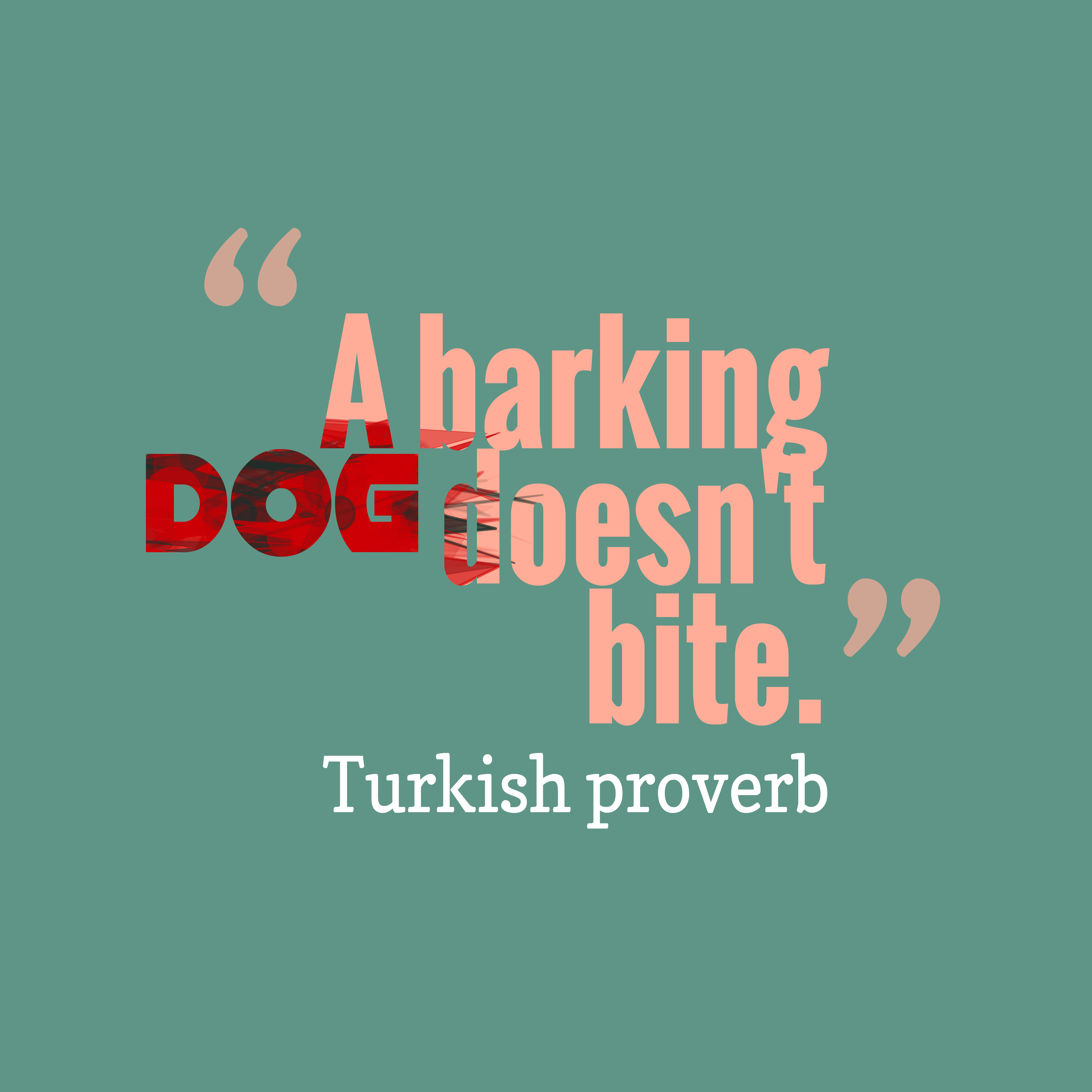 Funny Quotes Barking Dogs