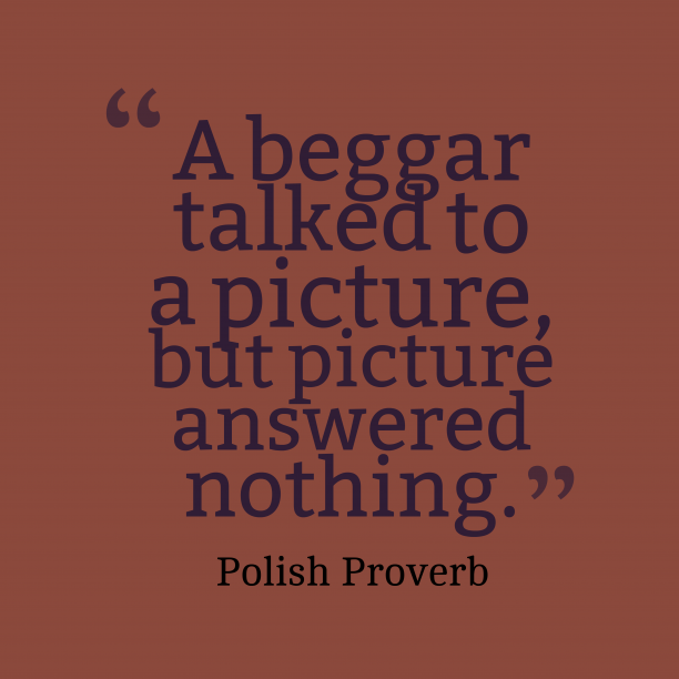 Polish wisdom about picture.