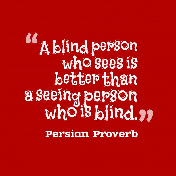 Persian wisdom about effort.