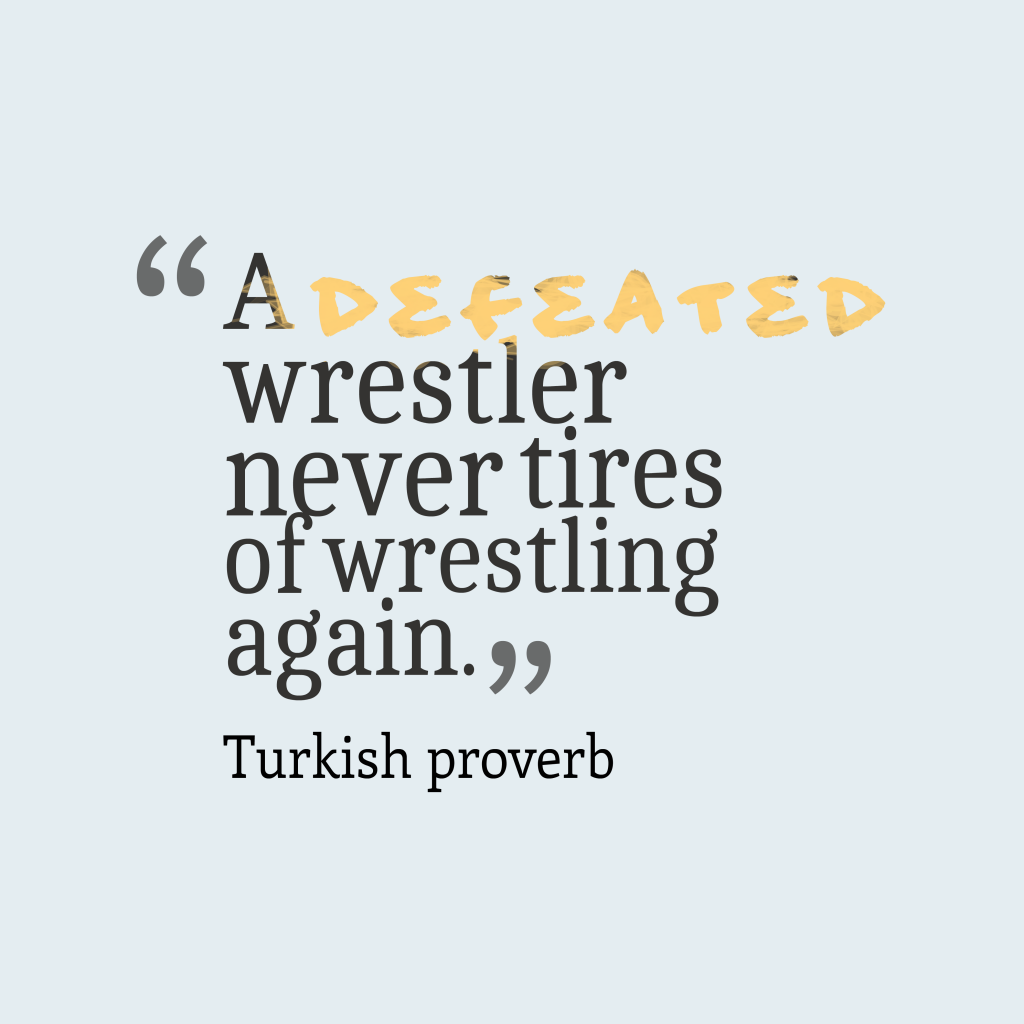 Turkish proverb about chances.