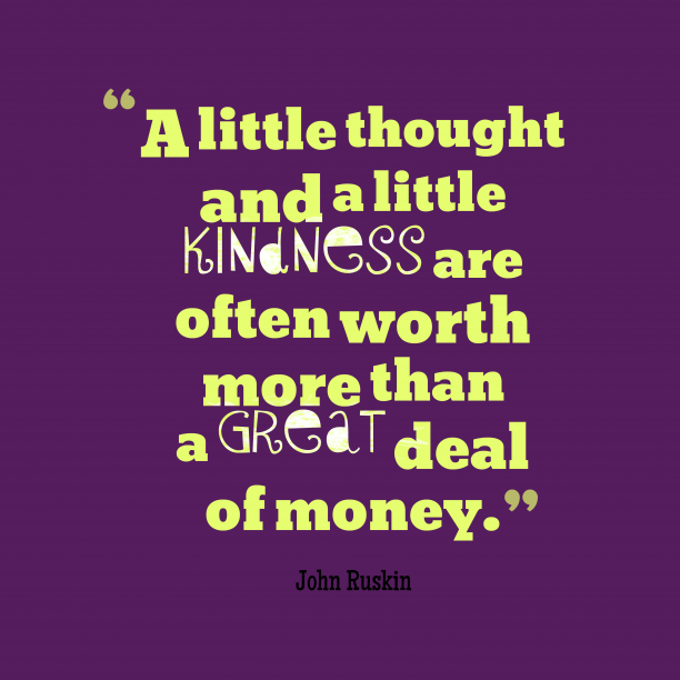 John Ruskin quote about money.