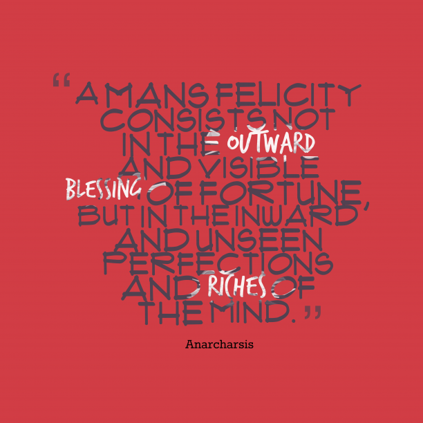 Anarcharsis quote about mind.