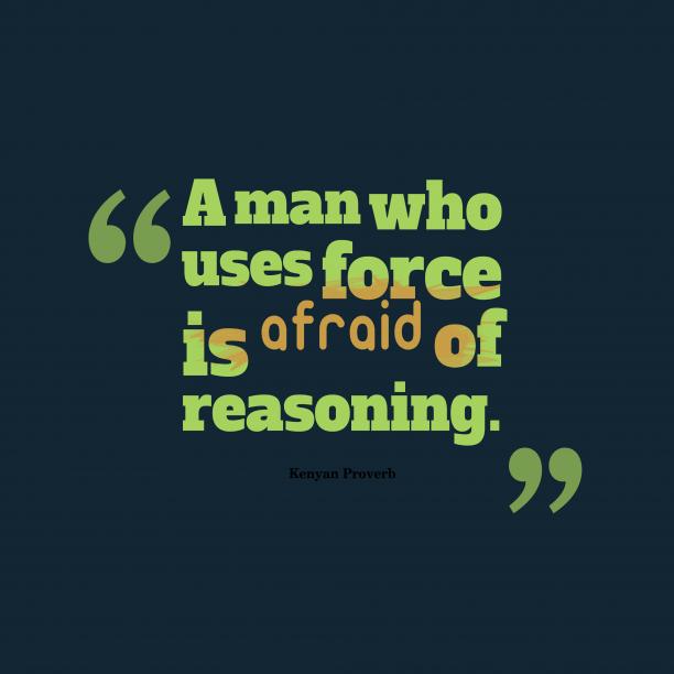 Kenyan wisdom about wisdom.