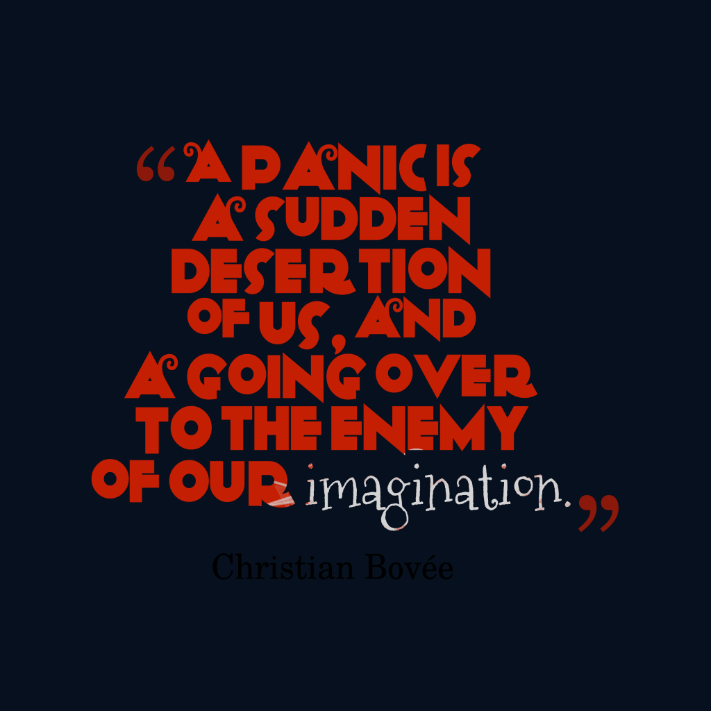 Christian Bovée quote about fear.