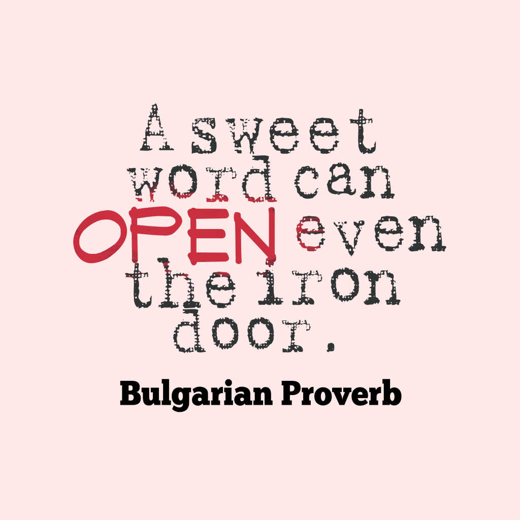 Bulgarian proverb about passion.