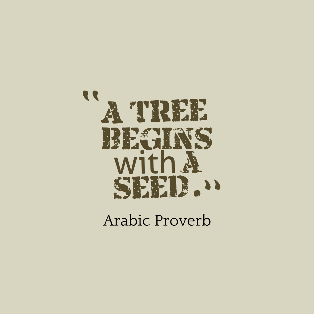 Arabic proverb about company.