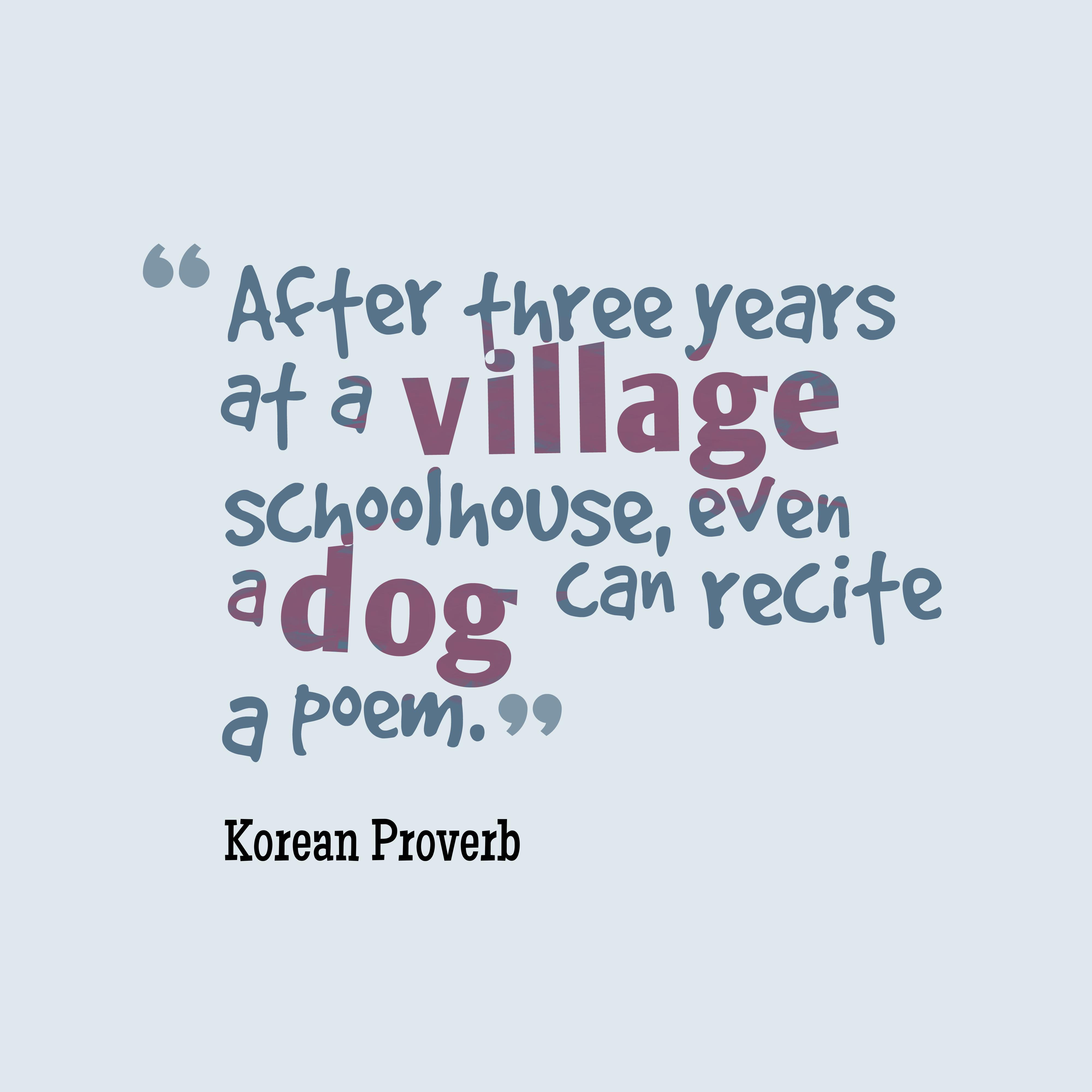 Korean Wisdom About Practice