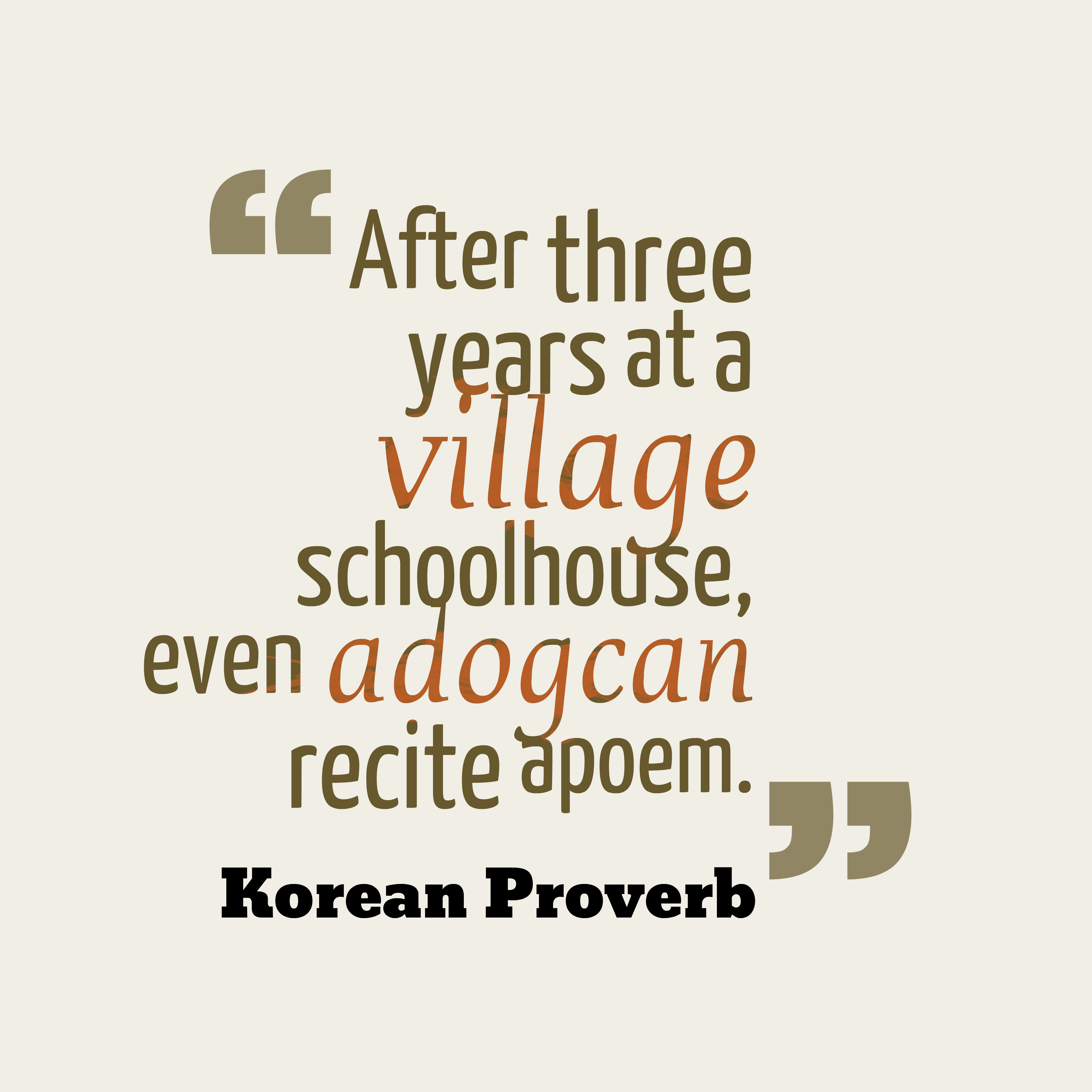 Need Inspiration 26 Wise Korean Proverbs to Change