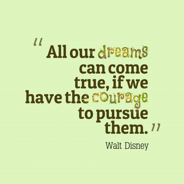 Walt Disney quotes about dreams