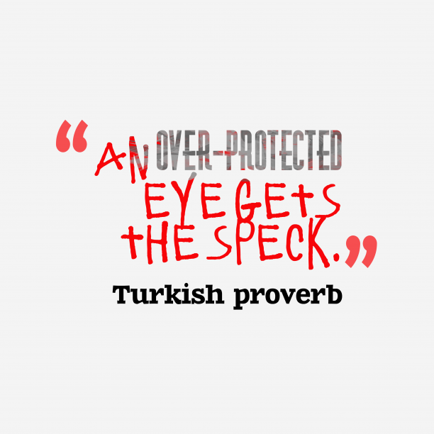 Turkish wisdom about protect.