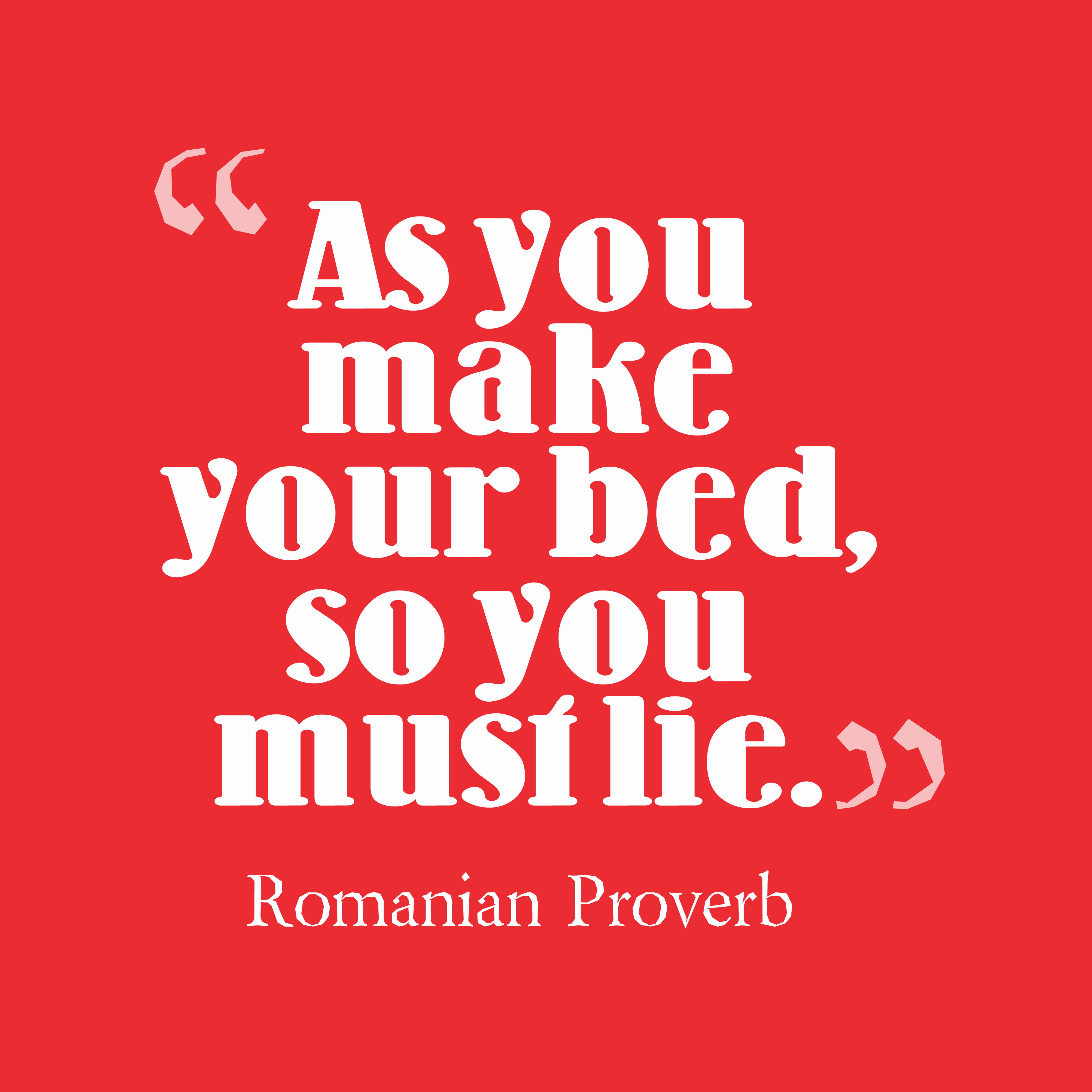 Picture » Romanian Proverb About Decision
