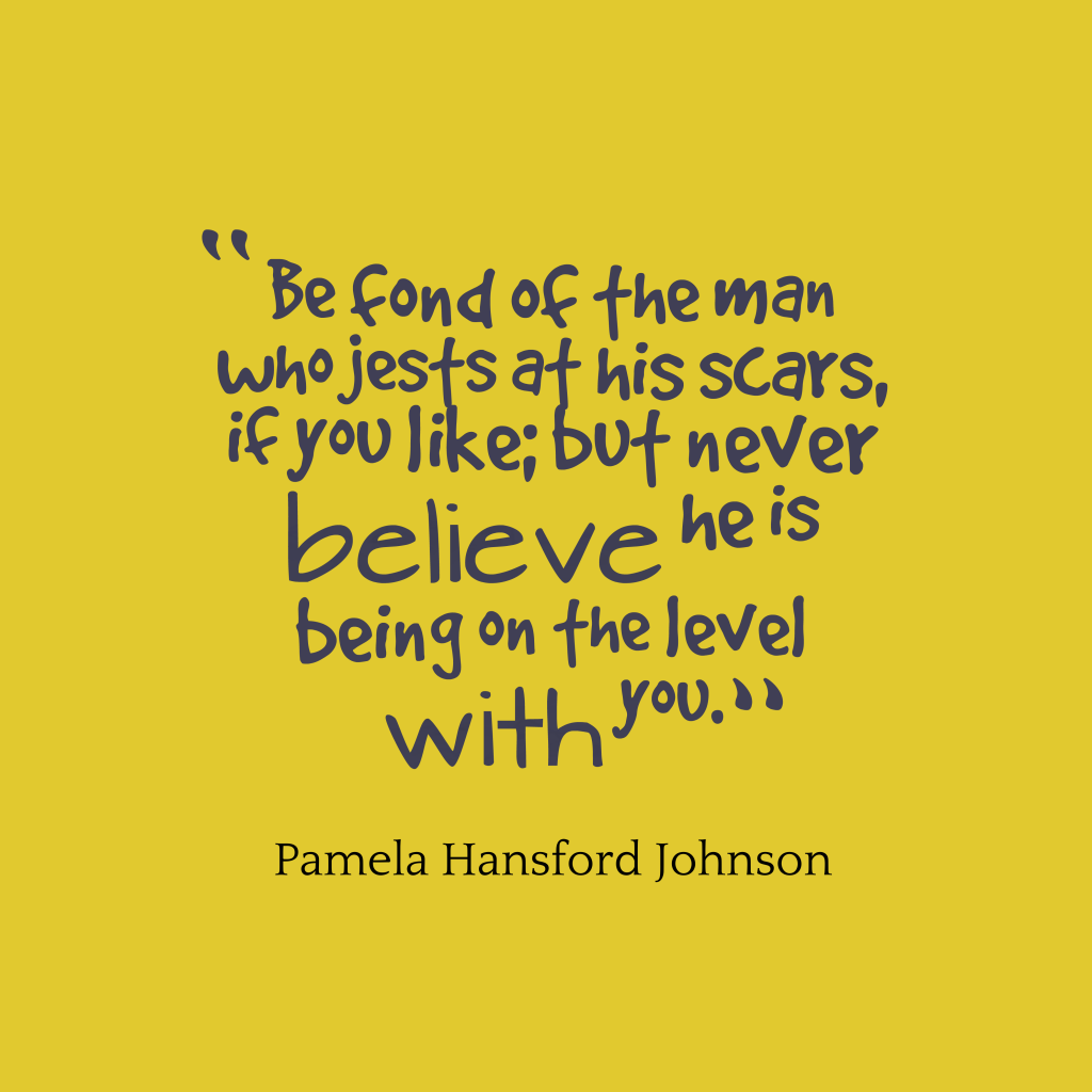 Pamela Hansford Johnson quote about humor.