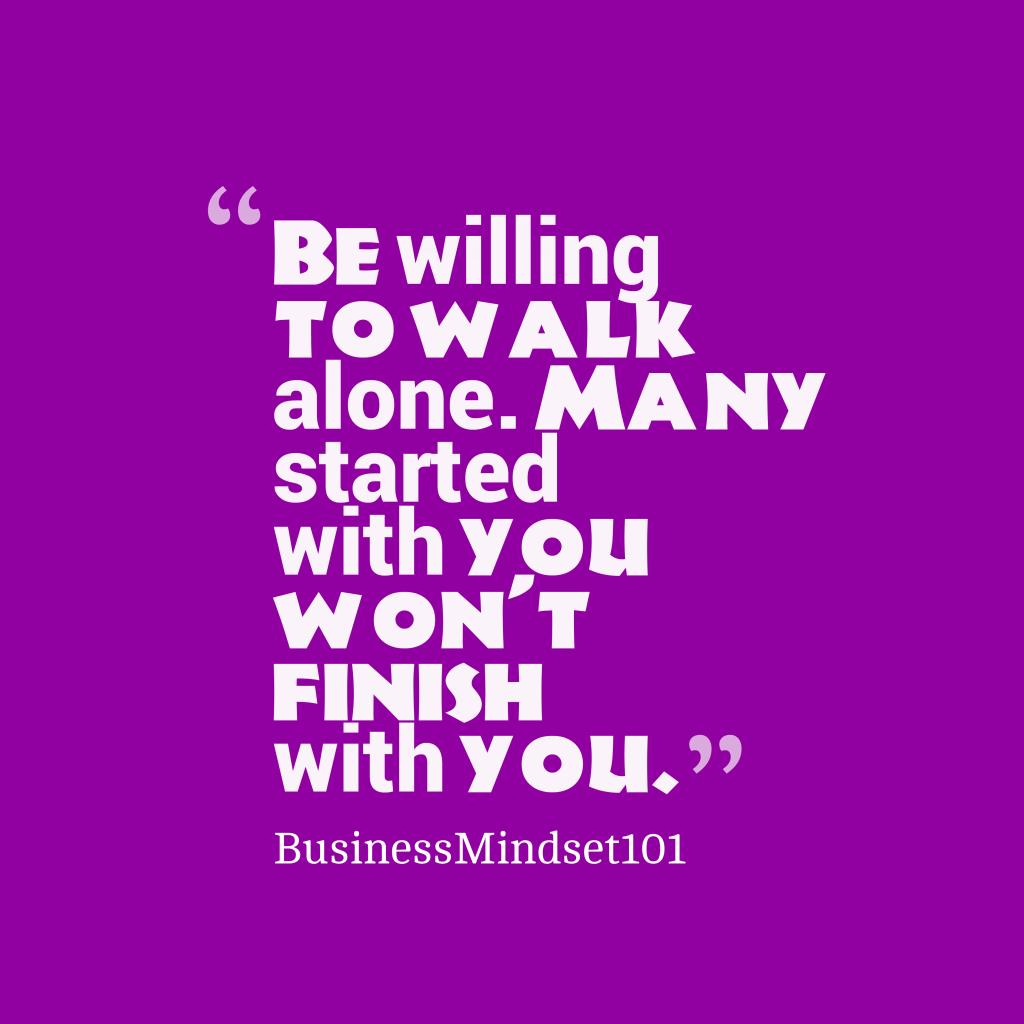 BusinessMindset101 quote about motivation.