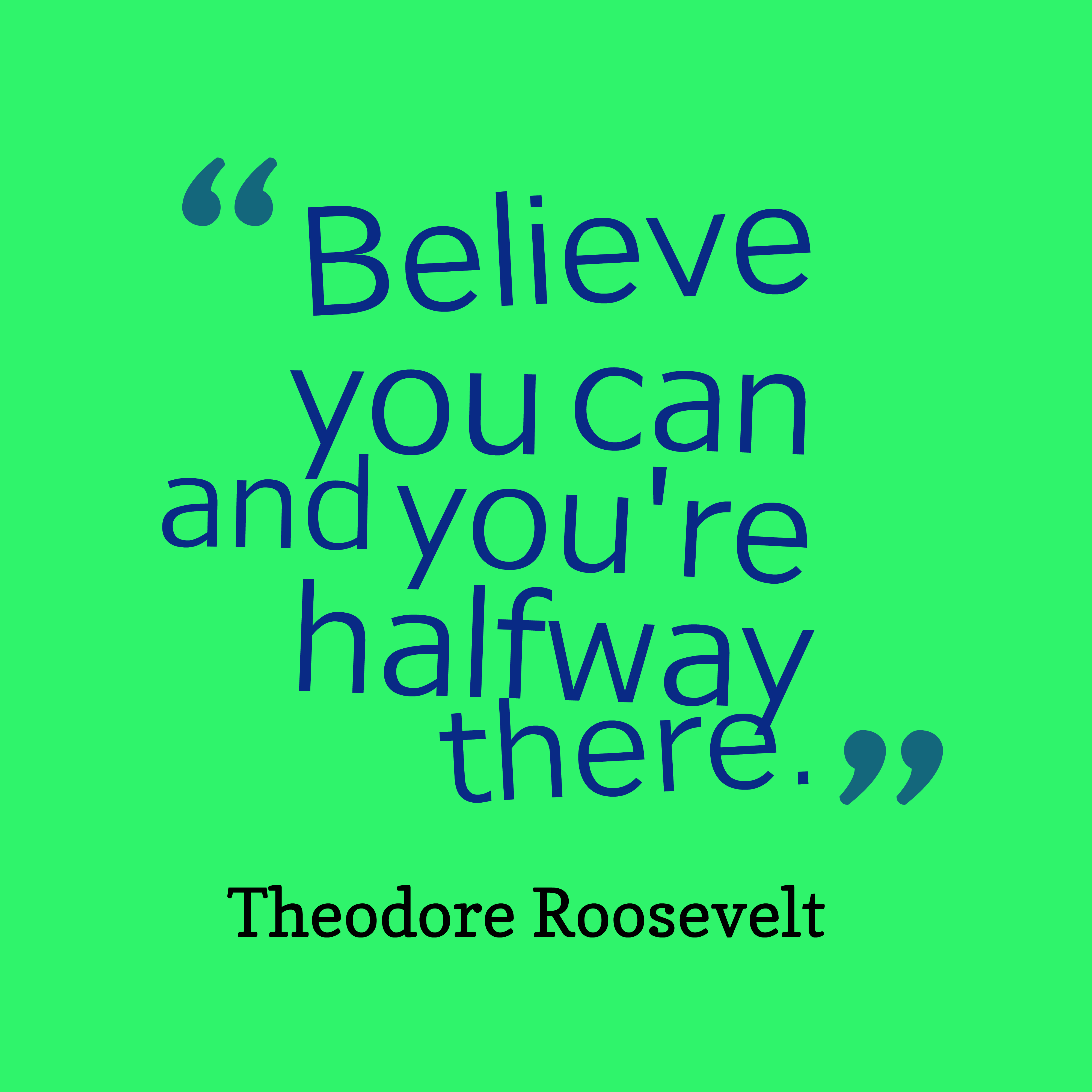 Picture 187 Theodore Roosevelt Quote About Spirit