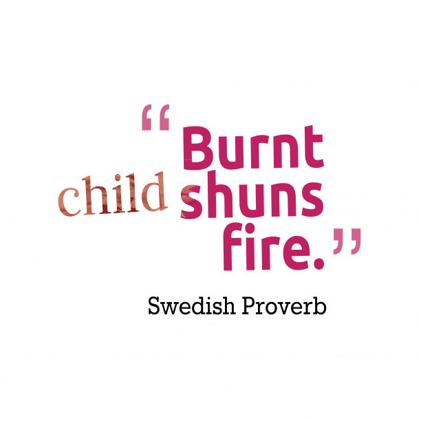 Swedish Proverb about experience.