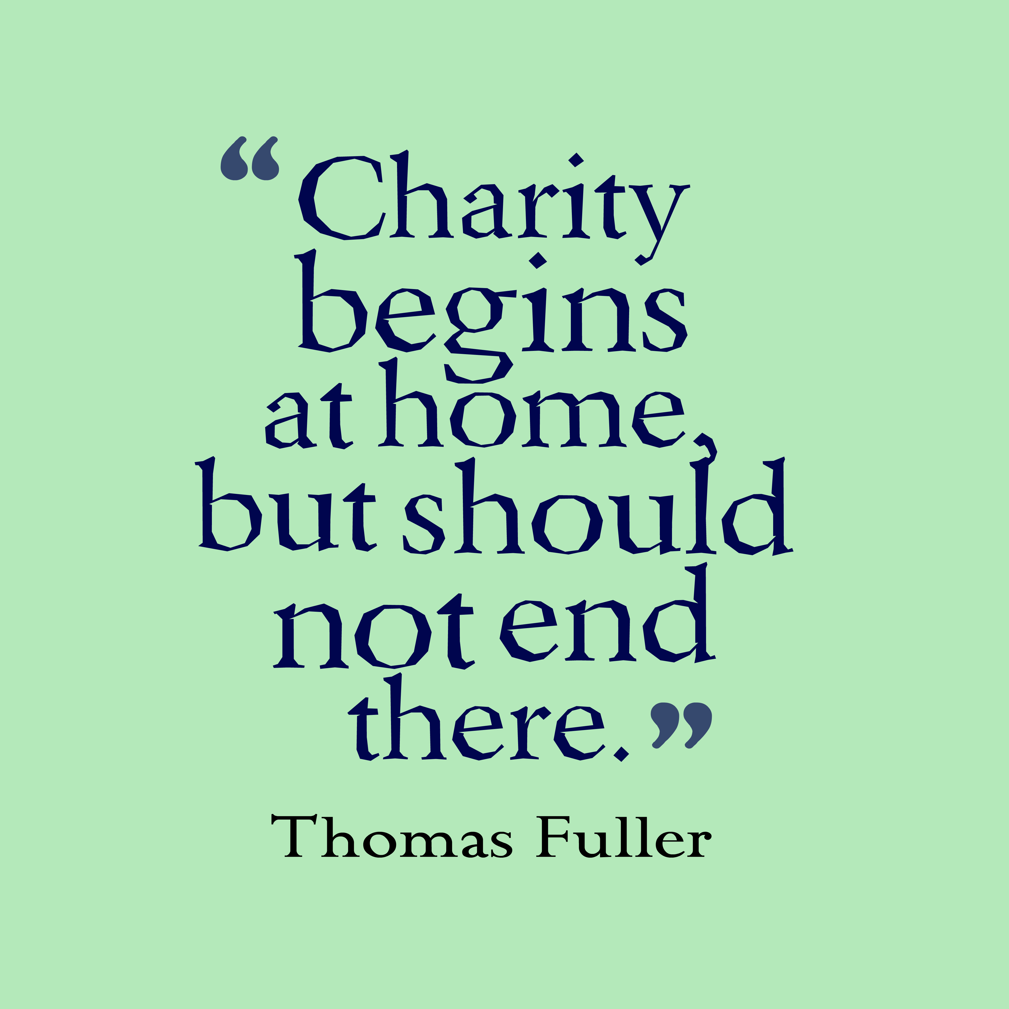 Charity Quotes By Famous People | Masteri