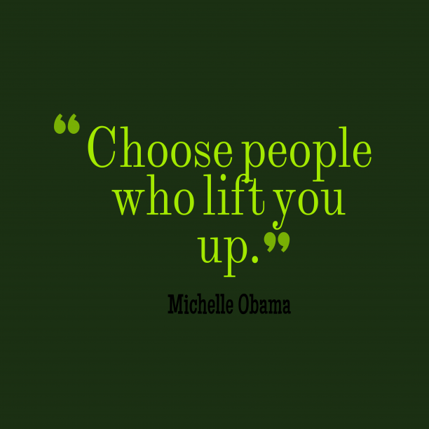 Michelle Obama quote about choose.