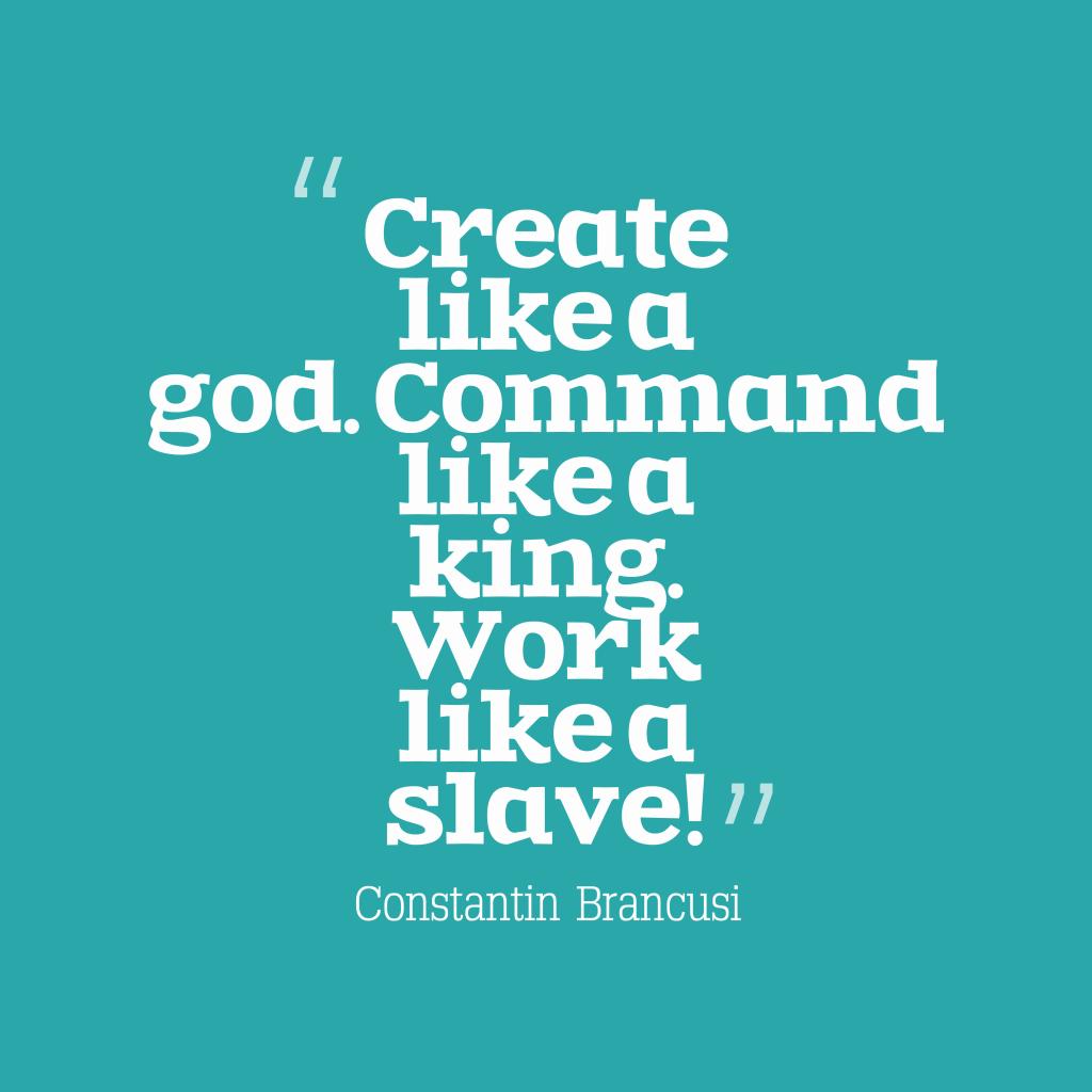Create like a