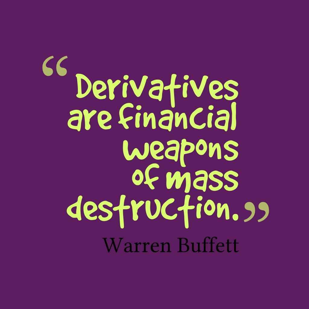 Warren Buffett quote about financial.