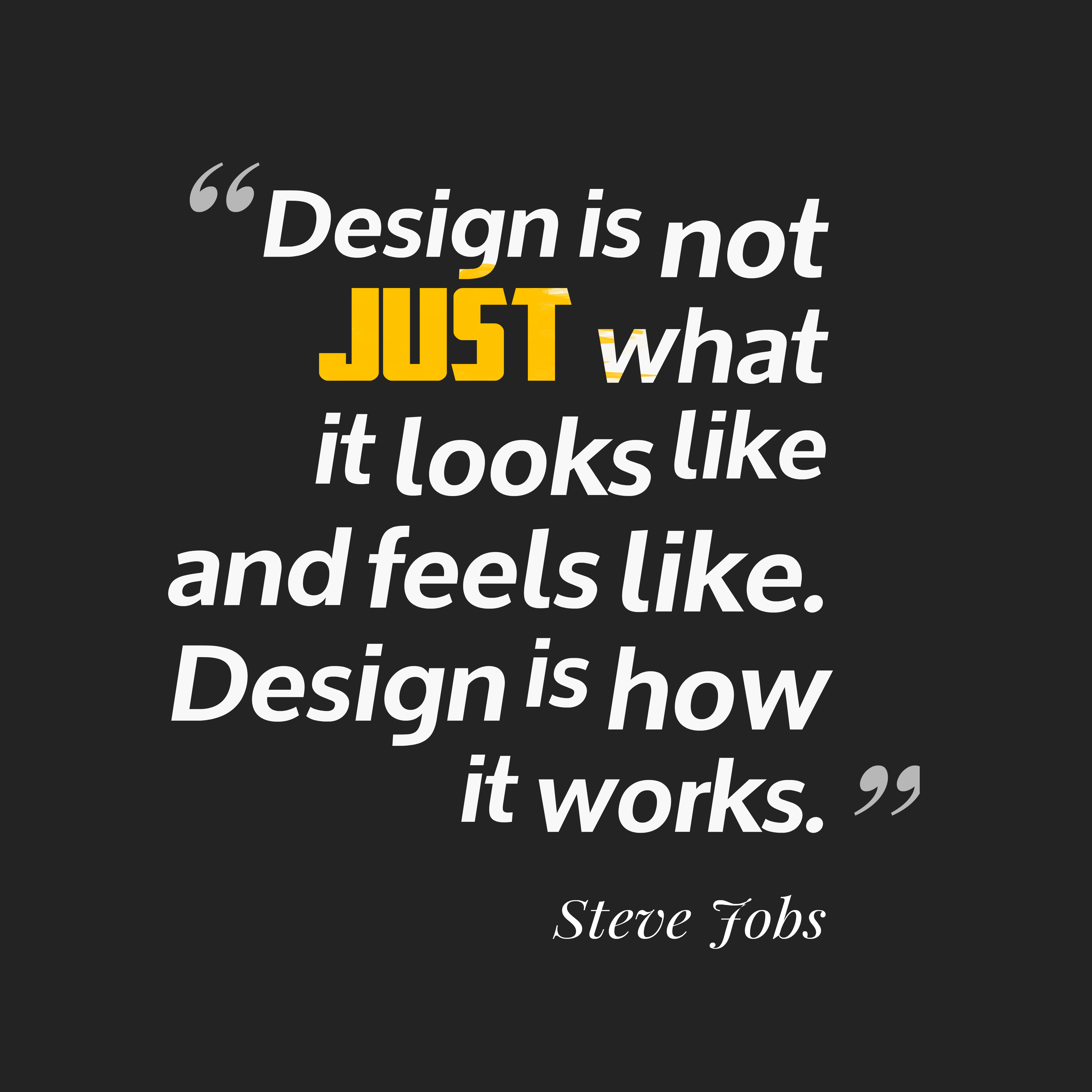 steve jobs quotes about design