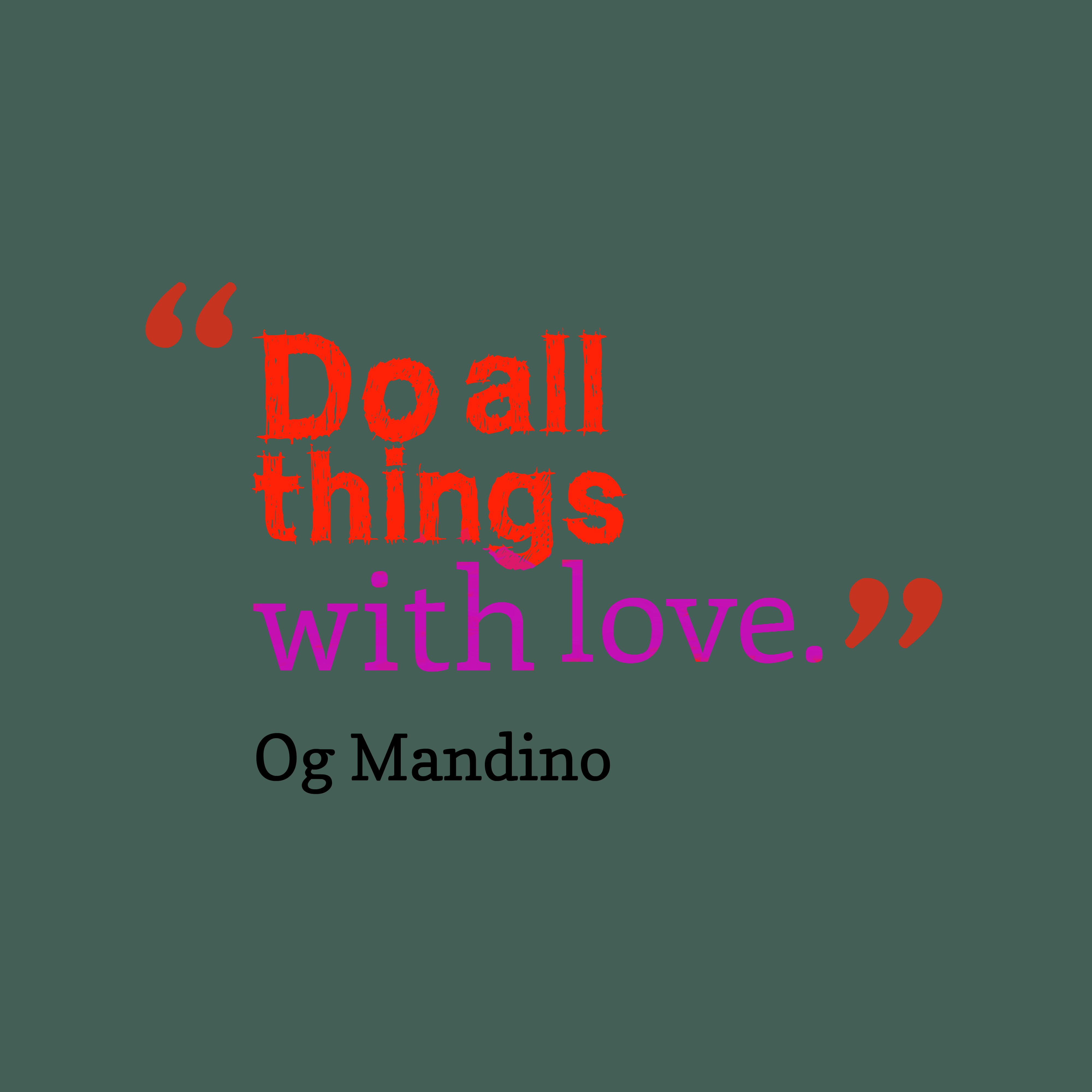 Og Mandino Quotes: Download High Resolution Quotes Picture Maker From Og