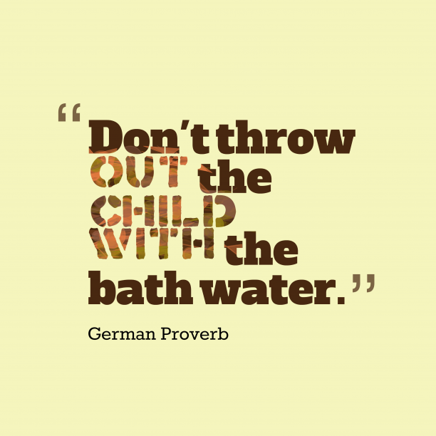 German proverb about idea.