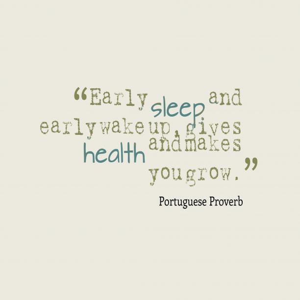 Portuguese wisdom about lifestyle.