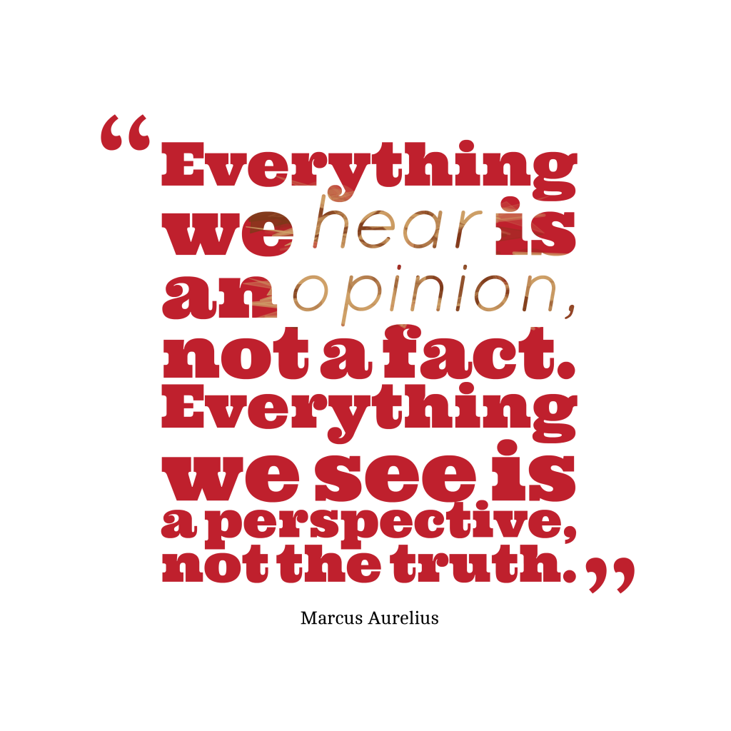 Marcus Aurelius quote about truth.