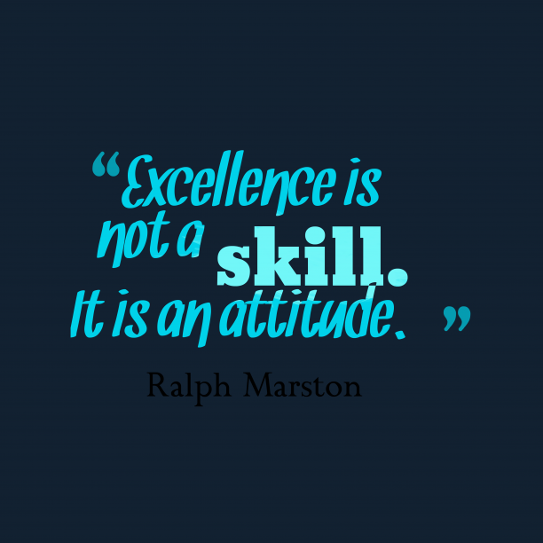 Ralph Marston quote about attitude.