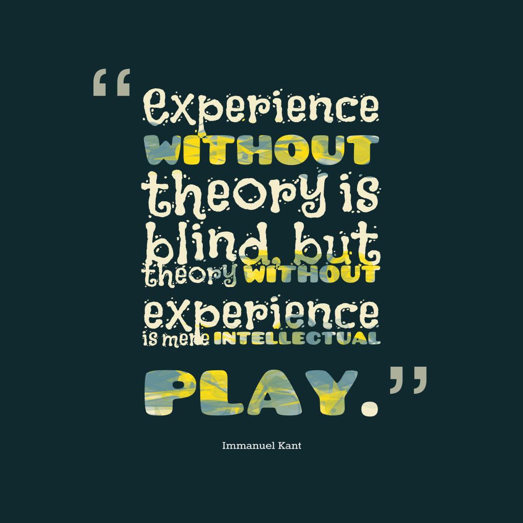 Blind Quotes Picture Immanuel Kant Quotes About Experience  Quotescover