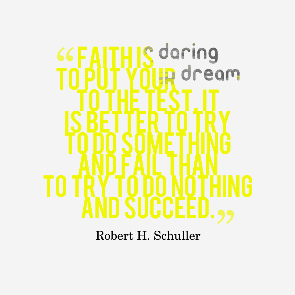 Robert H. Schuller quote about ambition.