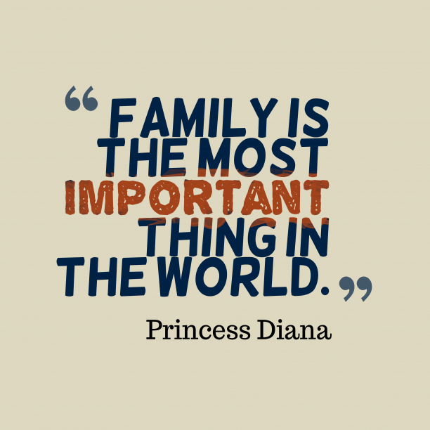 Why Family Is Important Quotes: 4 Best Princess Diana Quotes Images