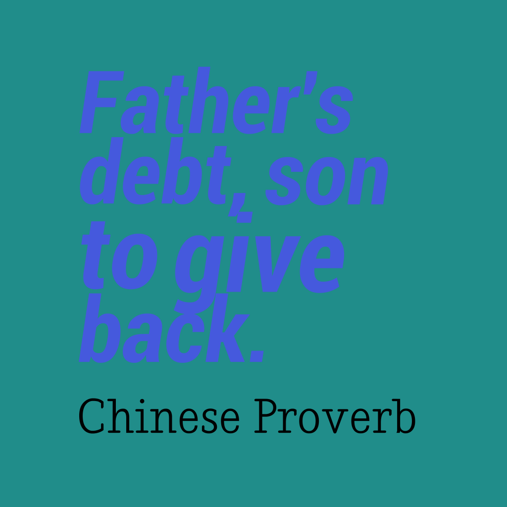 Chinese proverb about learn.