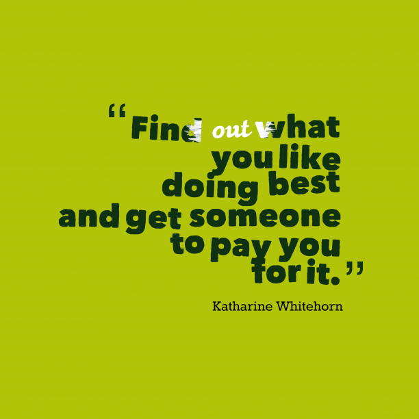 Katharine Whitehorn quote about best.