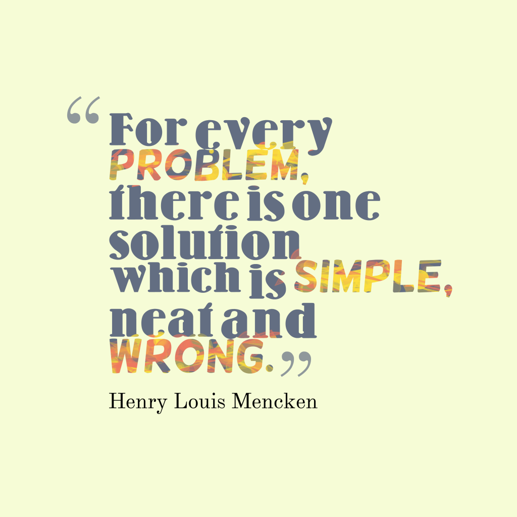 For every problem,