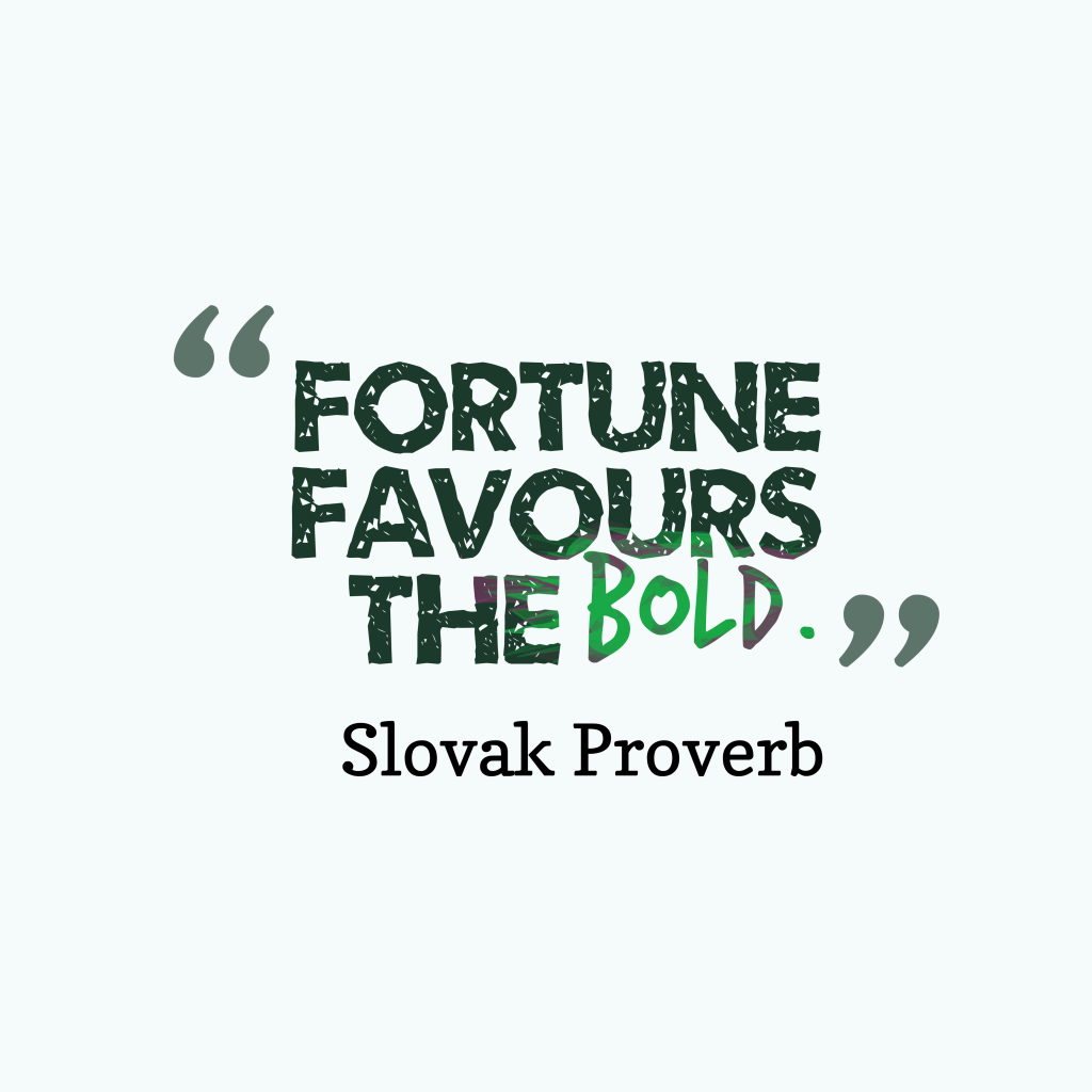 Slovak ptovetb about success.