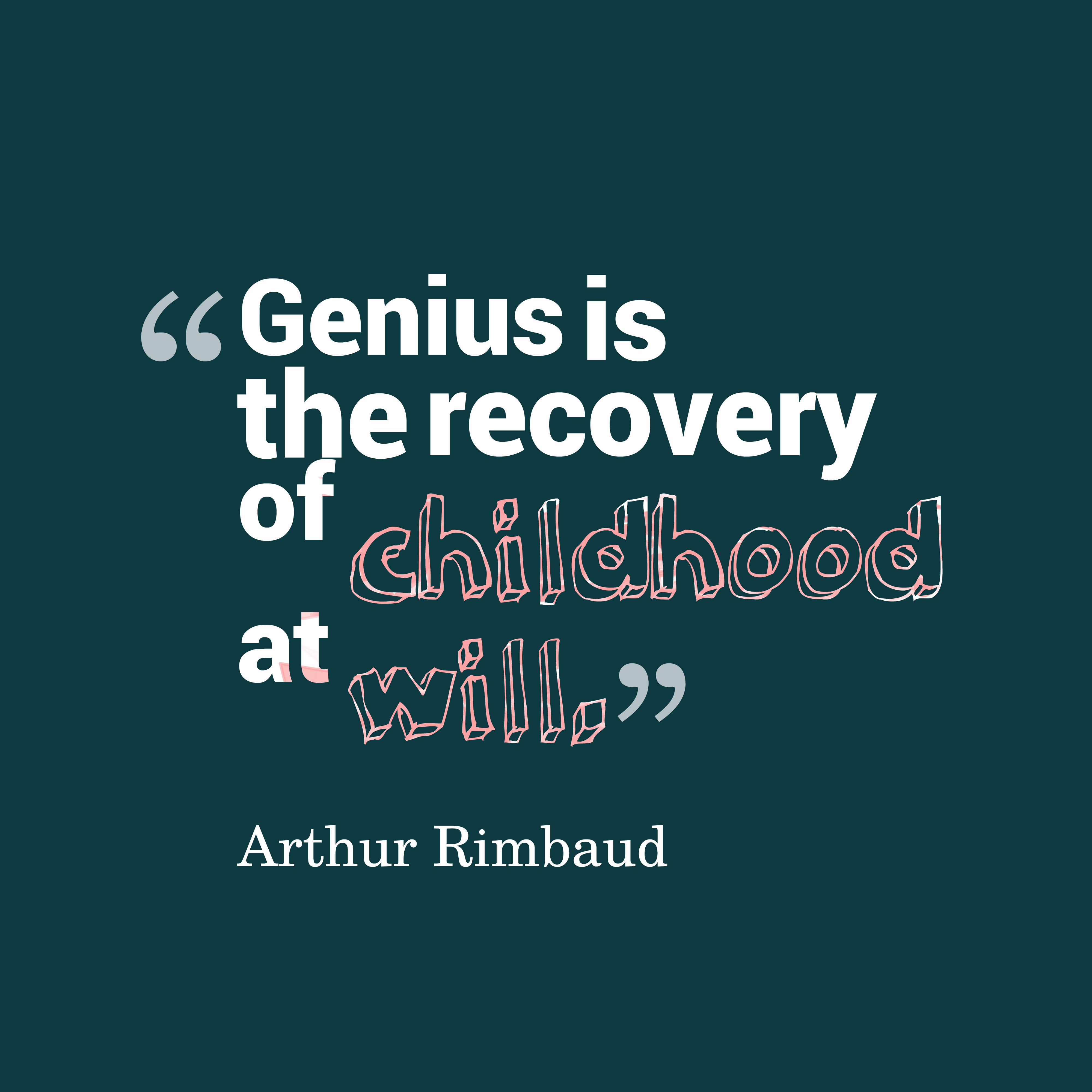 Picture Arthur Rimbaud...